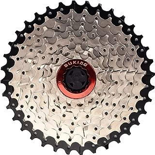 CYSKY 9 Speed Cassette 9Speed 11-36 Cassette Fit for Mountain Bike, Road Bicycle, MTB, BMX, Sram Sunrace Shimano ultegra xt (Light Weight)