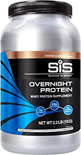 Sponsored Ad - SCIENCE IN SPORT Overnight Protein, 25g Casein & Whey Protein Isolate Powder, Slowly Digested Milk Protein,...