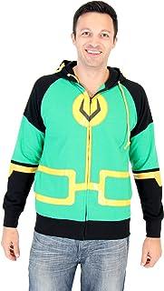 Marvel Kid Loki Symbol Adult Zip Up Costume Hoodie