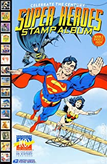 super heroes stamp album