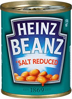 Heinz Baked Beans in Tomato Sauce with Reduced Salt, 130g