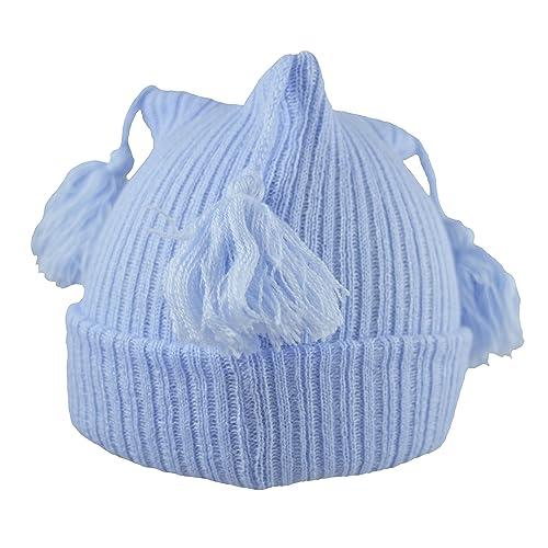 c9423df6cbf Pesci Baby Boys Girls Beanie Hat with Tassels
