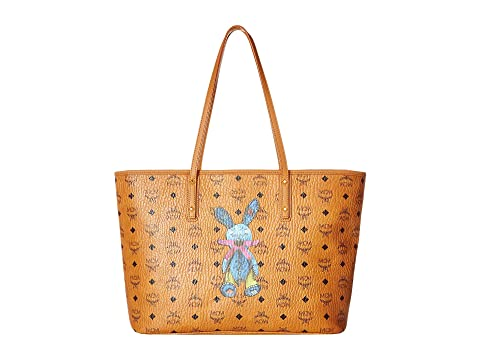MCM Rabbit East/West Shopper Medium