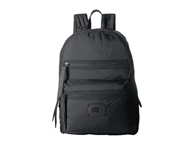 Frye Ivy Backpack (Matte Black Nylon) Backpack Bags