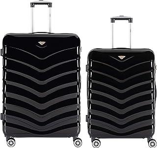 40,6 cm Couleur 1 12 16 CASART Lot de 2 valises pour Enfant en ABS 30,5 cm