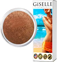Bronzer Makeup Powder | Gold Digger | Bronzer For Face | Pure, Non-Diluted Mineral Make Up | Contour Highlight Blush Palette | Contouring Makeup Products | Facial Contouring With Bronze