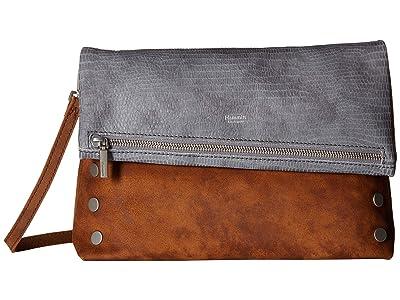 Hammitt VIP Large (Slate Tejus/Arches Buffed/Brushed Silver) Handbags