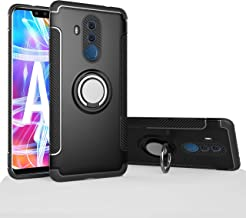 Mate 10 Lite/Nova 2i Case, Mingwei [with 360 ° Kickstand] Rotating Ring Case [Dual Shockproof] Protection Cover Compatible with [Magnetic Car Mount] for Huawei Mate 10 Lite (Black, Mate 10 Lite)