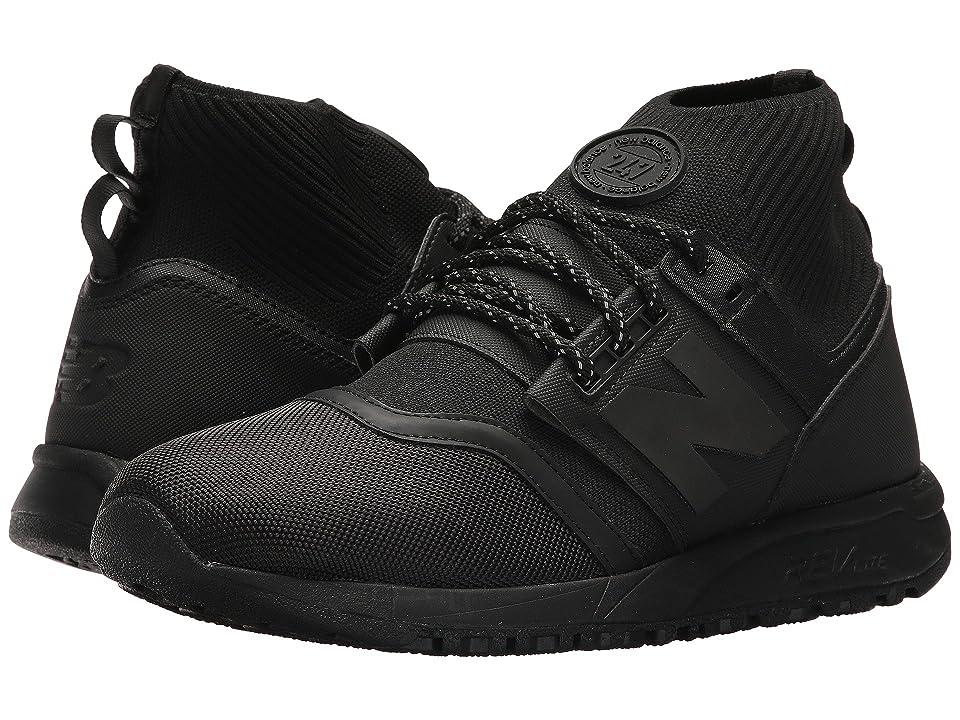 New Balance Classics MRL247 - Mid (Black 1) Men's Shoes