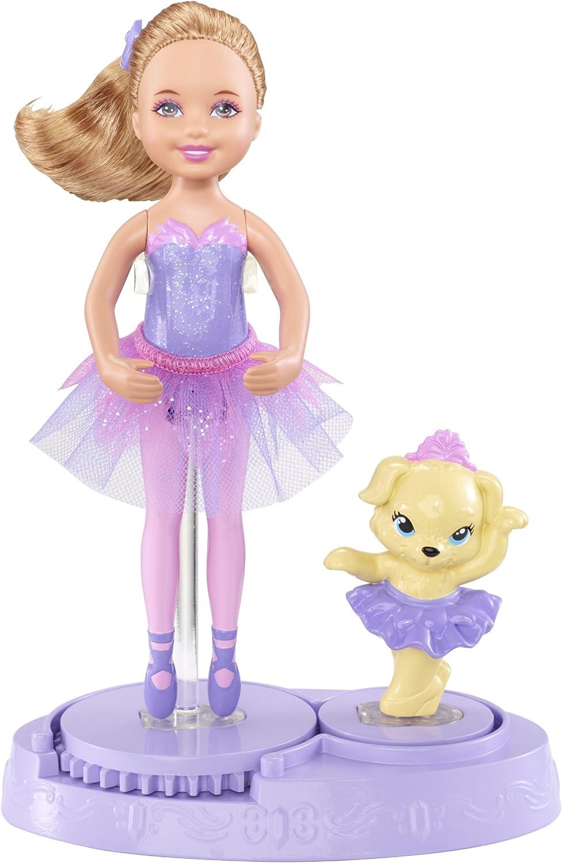 Barbie Mattel X8818 Ballerina & Tierfreund - Chelsea lila