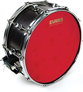 Evans Hydraulic Red Coated Snare 14-Inch (B14HR)
