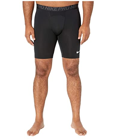 Nike Big Tall Pro Shorts (Black/Anthracite/White) Men