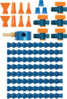 "Loc-Line - 40480 Coolant Hose Magnetic Base Manifold Super Kit, 25 piece, 1/4"" Hose ID"