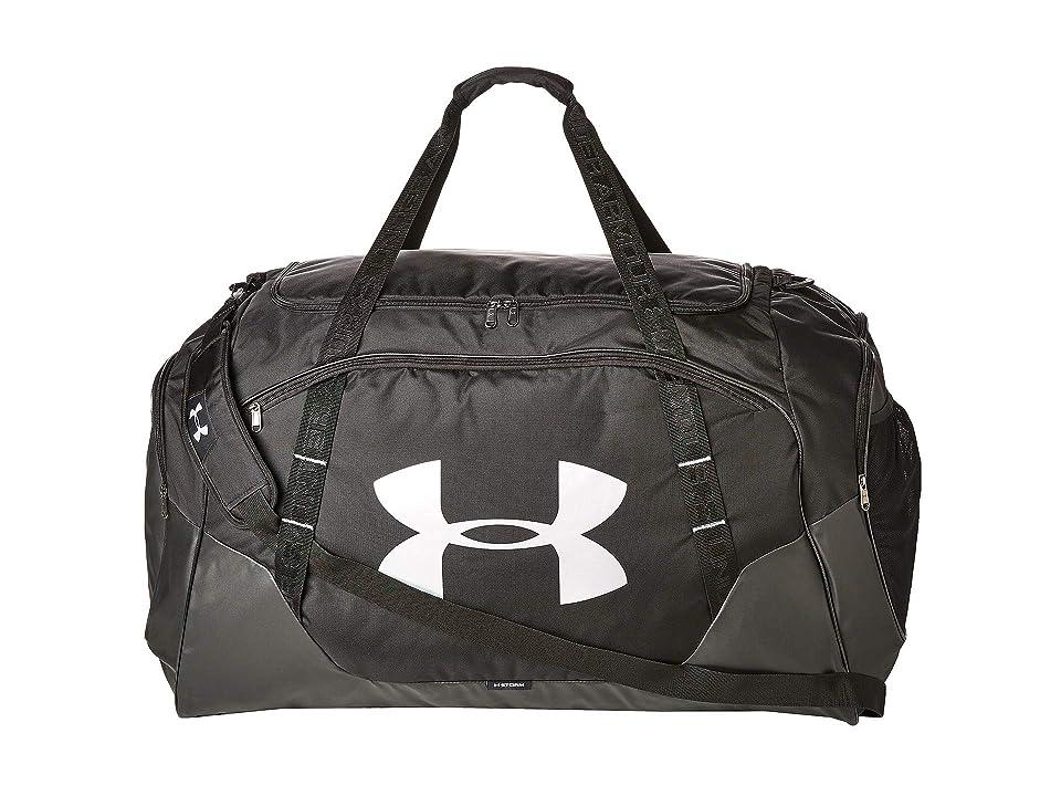 Under Armour Undeniable Duffel 3.0 XL (Black) Duffel Bags