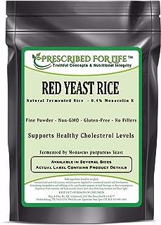 Red Yeast Rice - 0.4% Standardized Extract Powder (Monascus purpureus), 2 kg