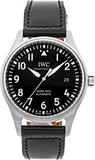 Pilot Mechanical (Automatic) Black Dial Mens Watch IW3270-09 (Certified Pre-Owned)