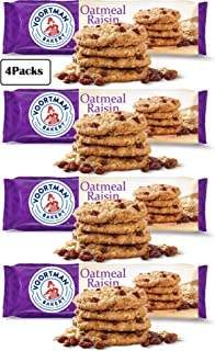 Voortman Bakery Oatmeal Raisin Cookies - Delicious Baked Oatmeal Cookies made with Real Whole Grain Oats and Raisins (Pack...