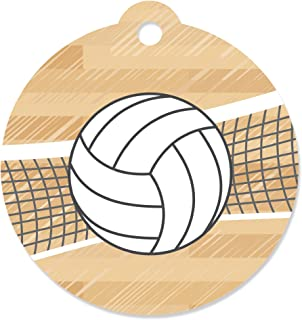 Bump, Set, Spike - Volleyball Baby Shower or Birthday Party Favor Gift Tags (Set of 20)