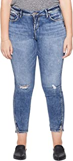 Women's Plus Size Avery Curvy Fit High Rise Ankle Skinny Jeans