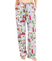 Christmas Village Flannel Pajama Pants