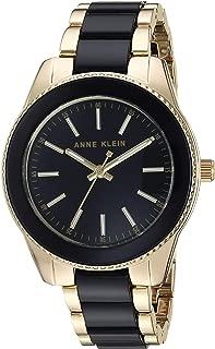 Anne Klein Ak/3214Bkgb Reloj de Cuarzo para Mujer