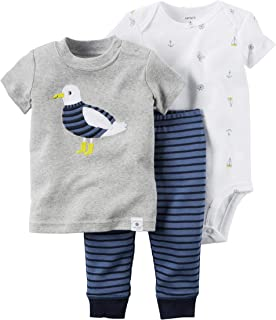 Carter's Baby Boys' 3 Pc Back Art 126g423