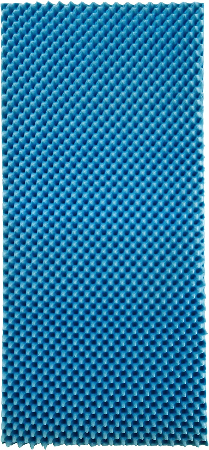 Popular overseas Hermell Products Inc. Convoluted Hospital Max 59% OFF Mat Foam Egg Pad Crate
