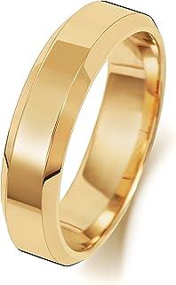 Anello Fede Nuziale Uomo/Donna 5mm in Oro giallo 18k (750) WJS1891618KY