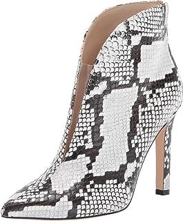 Nine West Women's Danie Heel Booties Fashion Boot, White, 8