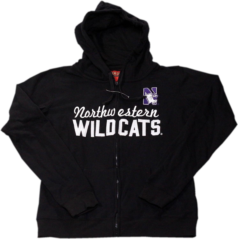Cover One Northwestern Wildcats Ladies Full Zip Hoodie