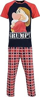 Disney Mens Grumpy Pajamas