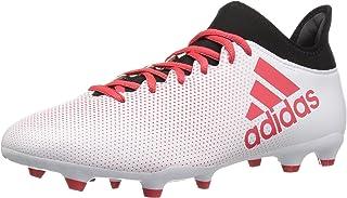 Men's X 17.3 FG Soccer Shoe,tactile gold/core black/solar red,13.5 M US