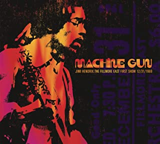 Machine Gun Jimi Hendrix The Fillmore East 12/31/1969 FIRST SHOW