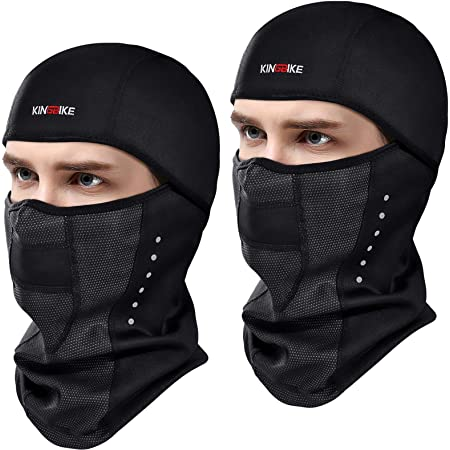 Men Women Balaclava Black Face Mask Windproof  Lightweight Motorcycle Warmer Ski