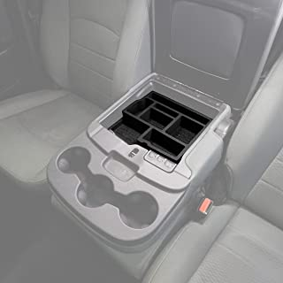 Red Hound Auto Center Console Organizer System Vehicle Insert Compatible with Dodge Ram 1500 2500 3500 2013 2014 2015 2016 2017 2018 Black Anti-Rattle Only FITS FOLD Down Console Seat Made in USA