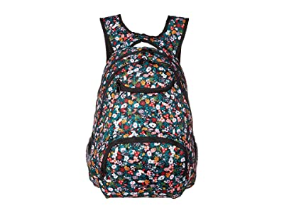 Roxy Shadow Swell (Anthracite Bouquet) Backpack Bags