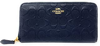 coach embossed small wallet