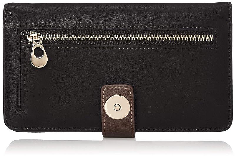 ラップ自伝苦悩[キーズ] 財布 長財布 ウォレット カラーコンビ 磁石ボタン 収納力あり メンズ レディース キーズ Keys KW061