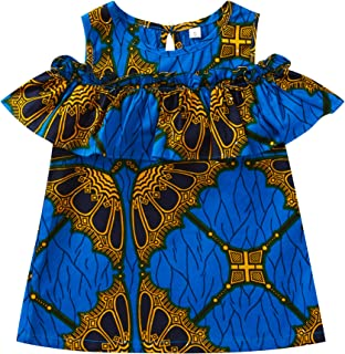 Baby Off Shoulder Dashiki Dress. African Outfit. African Baby Clothing.African Print Baby Dress .African Bardot Dress.