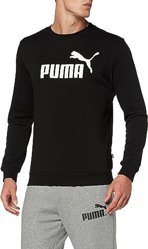 TALLA L. PUMA Essential Crew SWS Big Logo M Sudadera Hombre
