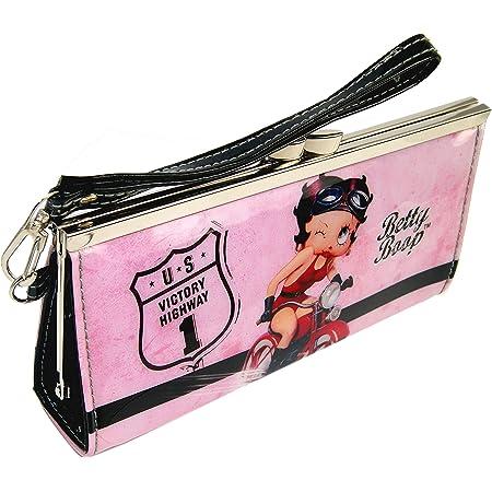 Betty Boop handmade zipper fabric coin change purse card holder