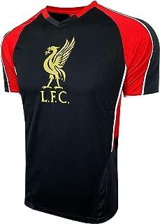 Liverpool Black Poly Shirt for Kids