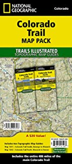 Colorado Trail [map Pack Bundle]: Topographic Map Guides; Trails Illustrated Maps