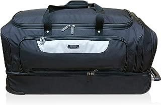 Kenneth Cole 32-inch Drop Bottom Rolling Duffle Bag