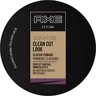 Axe Refined Clean Cut Look Pomade, 2.64oz Per Jar (6 Pack)