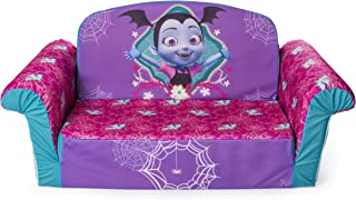 Marshmallow Furniture, Children's 2 in 1 Flip Open Foam Sofa, Disney's Vampirina, by Spin Master