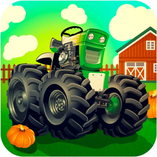 Farm tractor driving games for kids: Activity simulator 2017