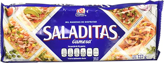 Saladitas, Saladitas, 137 gramos
