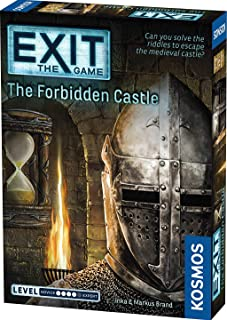 Thames and Kosmos 692872 EXIT - The Game | The Forbidden Castle | Level: Advanced | Unique Escape Room Game, 1-4 Players |...
