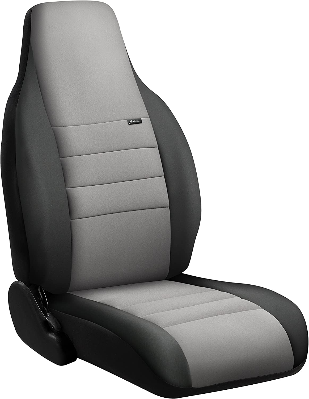 FIA NP97-36 Denver Mall Gray Custom Fit New item Front Seat Cover Split 20 40